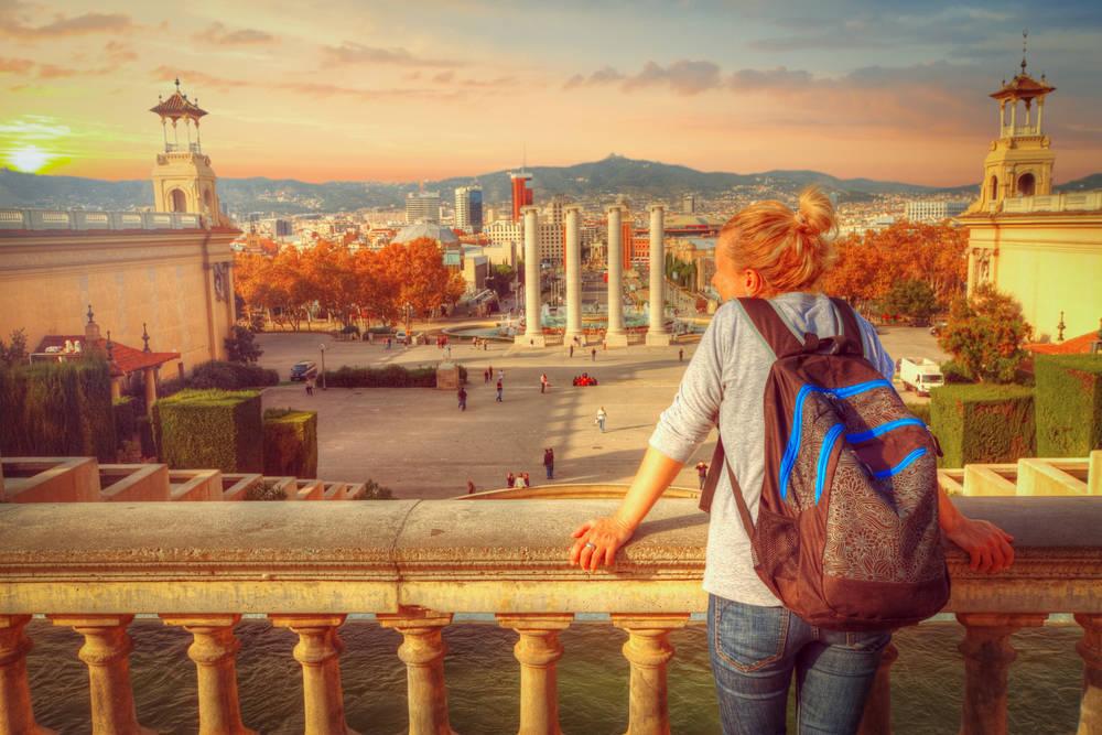 Los datos demuestran el resentimiento del turismo en Barcelona debido a la inestabilidad política