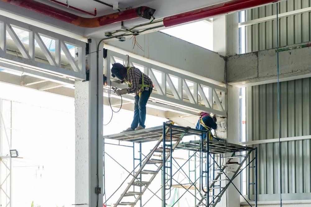Andamios, seguridad en la construcción